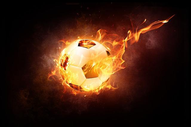 Fiery Football